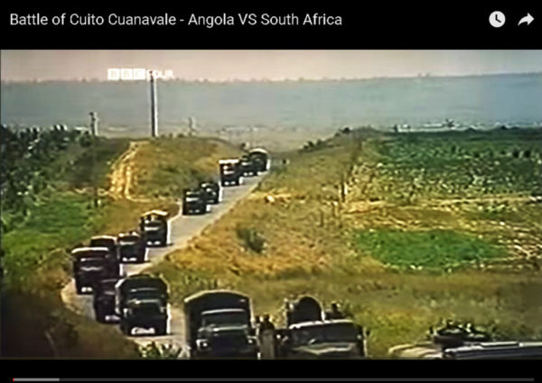 The Battle of Cuito Cuanavale is credited with ushering in the first round of trilateral negotiations, which secured the withdrawal of Cuban and South African troops from Angola and Namibia. Picture: YouTube